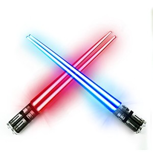 Chop-Sabers-Light-Up-LightSaber-Chopsticks-Set-2-Pairs-Red-Blue-0