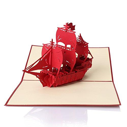 Ignislife-Papercraft-3d-Pop-up-Greeting-Cards-Various-Card-Designs-0